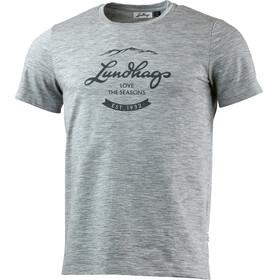 Lundhags Merino Light Established t-shirt grijs